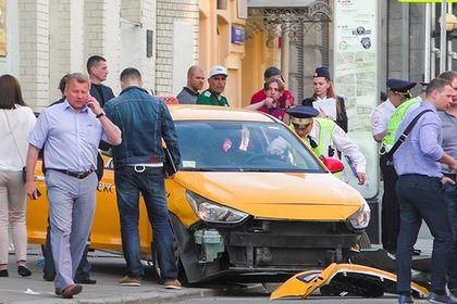 В Кремле отреагировали на ДТП с такси в центре Москвы