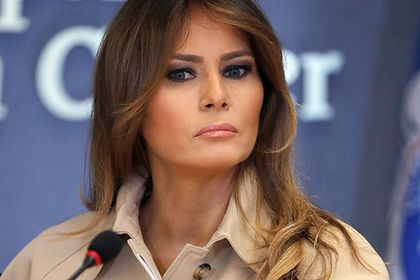 Мелания Трамп отругала мужа