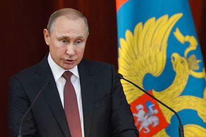 Путин назвал угрозу пенсионной системе