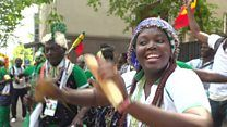 'Of course Senegal will win the World Cup' - fans celebrate in Moscow & Dakarの代表サムネイル