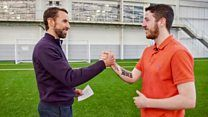 Gareth Southgate's surprise for former football hooliganの代表サムネイル