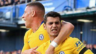 Burnley 0-4 Chelsea: Maurizio Sarri 'very happy' for goalscorer Alvaro Morataの代表サムネイル