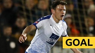 FA Cup second-round replay: Connor Jennings scores long-range volley to give Tranmere lead over Southportの代表サムネイル
