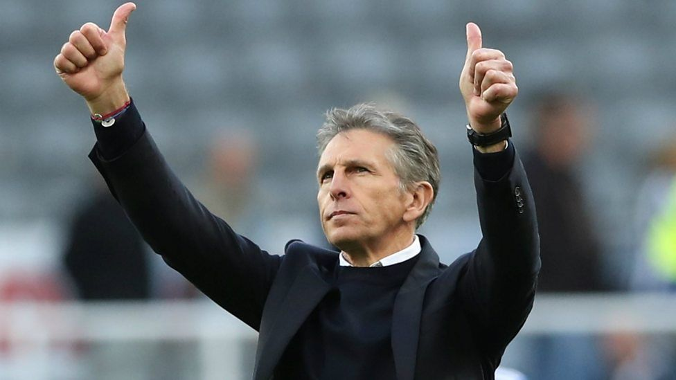 Newcastle United 0-2 Leicester City: Claude Puel happy with team's 'fighting spirit'の代表サムネイル