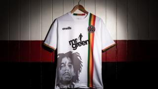 Bob Marley's son hails 'dopest' football kit as Dublin side's reggae-themed shirt inspires parodiesの代表サムネイル