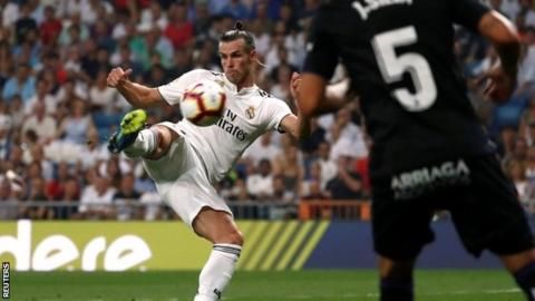 Real Madrid 4-1 Leganes: Karim Benzema and Gareth Bale help hosts winの代表サムネイル