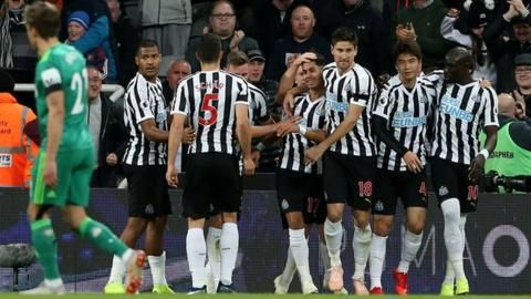 Newcastle end winless start with victory over Watfordの代表サムネイル
