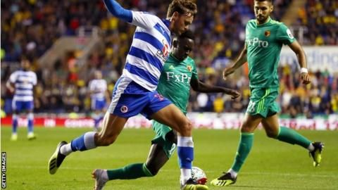 Reading 0-2 Watford: Domingos Quina scores as Javi Gracia's side keep up 100% startの代表サムネイル