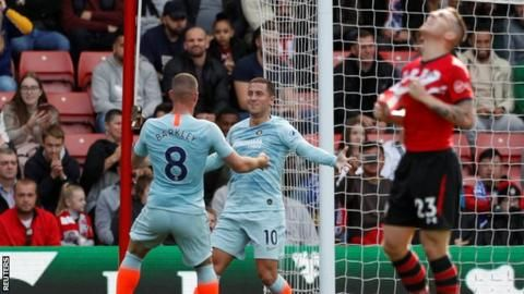 Hazard scores again as unbeaten Chelsea win at Southamptonの代表サムネイル