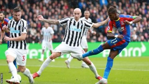 Newcastle still winless after draw at Palaceの代表サムネイル