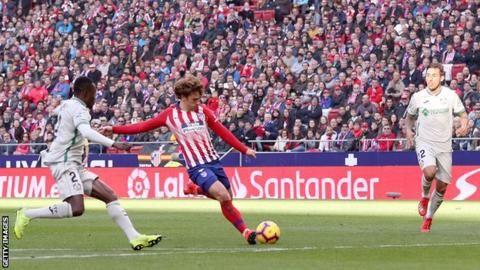 La Liga: Atletico Madrid 2-0 Getafeの代表サムネイル