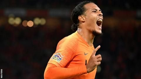 Injured Van Dijk to miss Netherlands' game with rib injuryの代表サムネイル