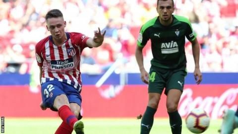 Atletico Madrid 1-1 Eibar: Teenage debutant Borja Garces rescues point for Atleticoの代表サムネイル