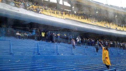Boca Juniors v River Plate: Match postponed because of heavy rainの代表サムネイル