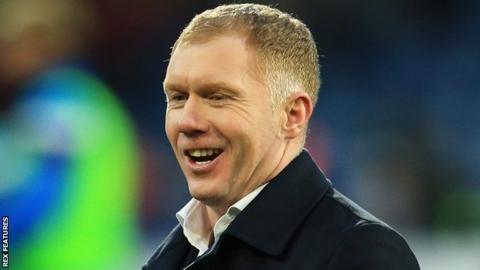 Paul Scholes: Man Utd great in Oldham Athletic manager talksの代表サムネイル