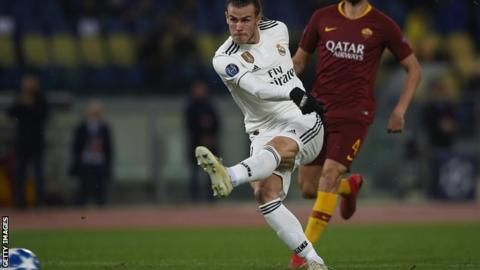 Roma 0-2 Real Madrid: Bale goal helps holders through as group winnersの代表サムネイル