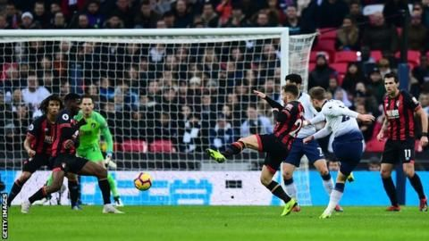 Tottenham 5-0 Bournemouth: Spurs thrash Cherries to move secondの代表サムネイル