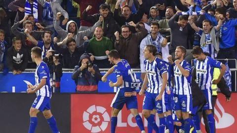 La Liga: Alaves 1-0 Real Madridの代表サムネイル