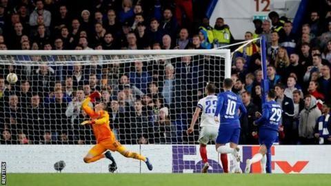 Chelsea 1-0 Vidi: Alvaro Morata strike proves decisive for Bluesの代表サムネイル