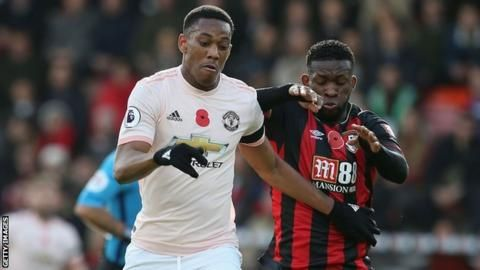 Rashford's injury-time strike gives Man Utd win at Bournemouthの代表サムネイル