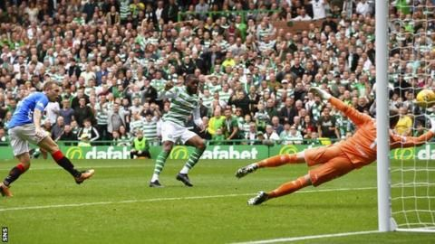 First defeat as Rangers boss for Gerrard as Celtic win Old Firm derbyの代表サムネイル
