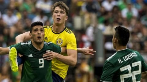 Scotland: Celtic defender Jack Hendry out for Belgium & Albaniaの代表サムネイル