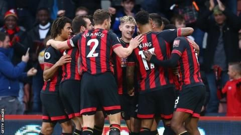 Bournemouth 2-0 Brighton: Brooks double downs 10-man Brightonの代表サムネイル