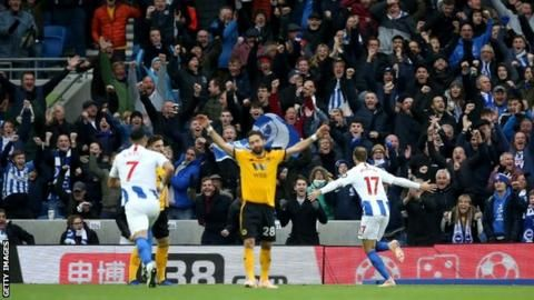 Murray's 100th Brighton goal sees off Wolvesの代表サムネイル