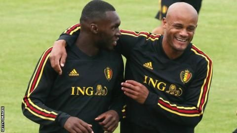 Vincent Kompany: Injured defender to stay with Belgium squadの代表サムネイル