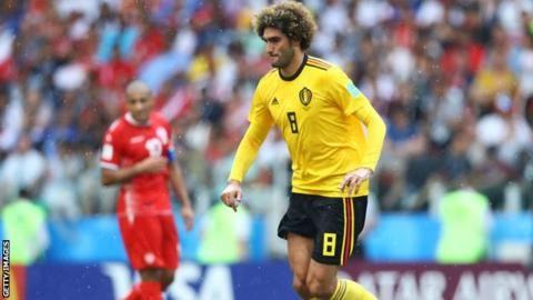 Belgium midfielder Fellaini close to new Man Utd dealの代表サムネイル