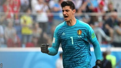 Courtois absent from Chelsea training amid Real Madrid linksの代表サムネイル