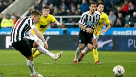 Newcastle 1-1 Blackburn in FA Cup third roundの代表サムネイル