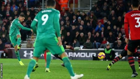 Holebas rescues point for Watford at Southamptonの代表サムネイル