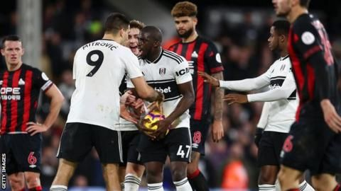 Aboubakar Kamara: Fulham to take action over racist abuse onlineの代表サムネイル
