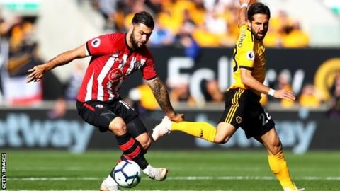 Wolves up to eighth after late goals against Southamptonの代表サムネイル