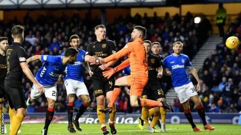 Rangers 3-0 Livingston: Steven Gerrard's side move into second placeの代表サムネイル
