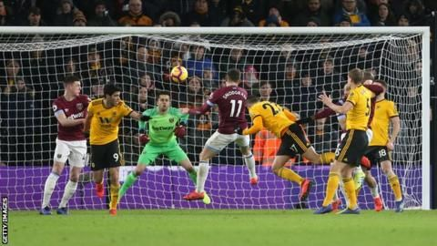 Wolves 3-0 West Ham: Jimenez double sees off Hammersの代表サムネイル