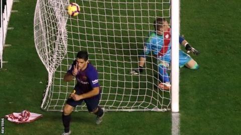 Rayo Vallecano 2-3 Barcelona: Champions stun Rayo with late comebackの代表サムネイル