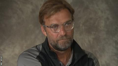 Liverpool manager Jurgen Klopp says he 'doesn't care about pressure'の代表サムネイル