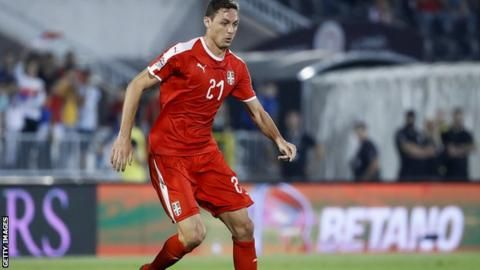 Manchester United's Nemanja Matic pulls out of Serbia squad with injuryの代表サムネイル
