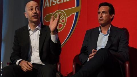 Arsenal chief Gazidis leaves for AC Milanの代表サムネイル