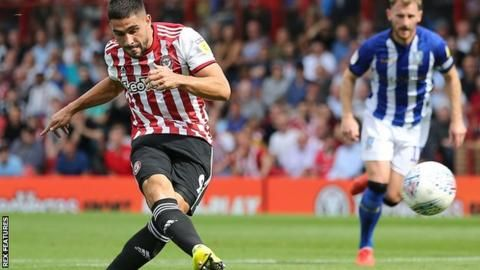 Brentford beat Owls to continue unbeaten startの代表サムネイル