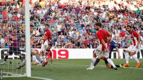 La Liga: Barcelona 1-1 Athletic Bilbaoの代表サムネイル