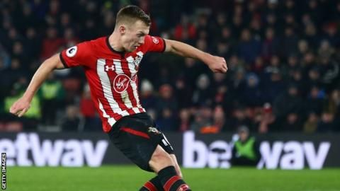 Southampton 1-1 Crystal Palace: James Ward-Prowse rescues point for home sideの代表サムネイル