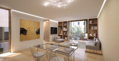 Dieses helle Luxus-Penthouse befindet sich in der Altstadt von Palma de Mallorca