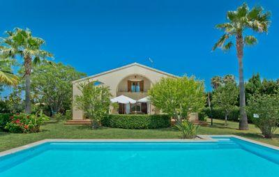 Mediterranes Landhaus  in Alcudia in der Nahe der Bucht von Pollensa  den Stranden von Puerto Alcudia und der Altstadt von Alcudia gelegen