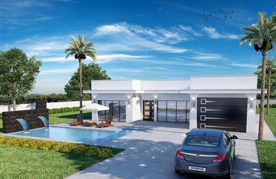 Bauprojekt eines Einfamilienhauses in der beliebten Zone von Crestaix mit Pool und Garten