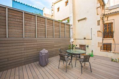 Diese Wohnung befindet sich in einer der beliebten Strasen der Altstadt von Palma