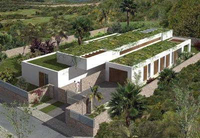 """Diese exklusive Neubau Luxus-Villa gehort zu einem neuen Bauprojekt mit dem Namen """"Plein Soleil"""" in begehrter Wohnlage in  Sol de Mallorca  in Mallorcas"""