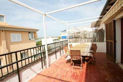 Helle Maisonette-Wohnung in Portocolom  nur 10 Minuten zu Fus vom Strand entfernt  Die Wohnung verteilt sich auf circa  120m²